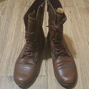 Steve Madden Combat Inspired Boots